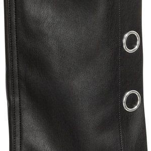 H&M Pants - NWOT black faux leather cropped pants